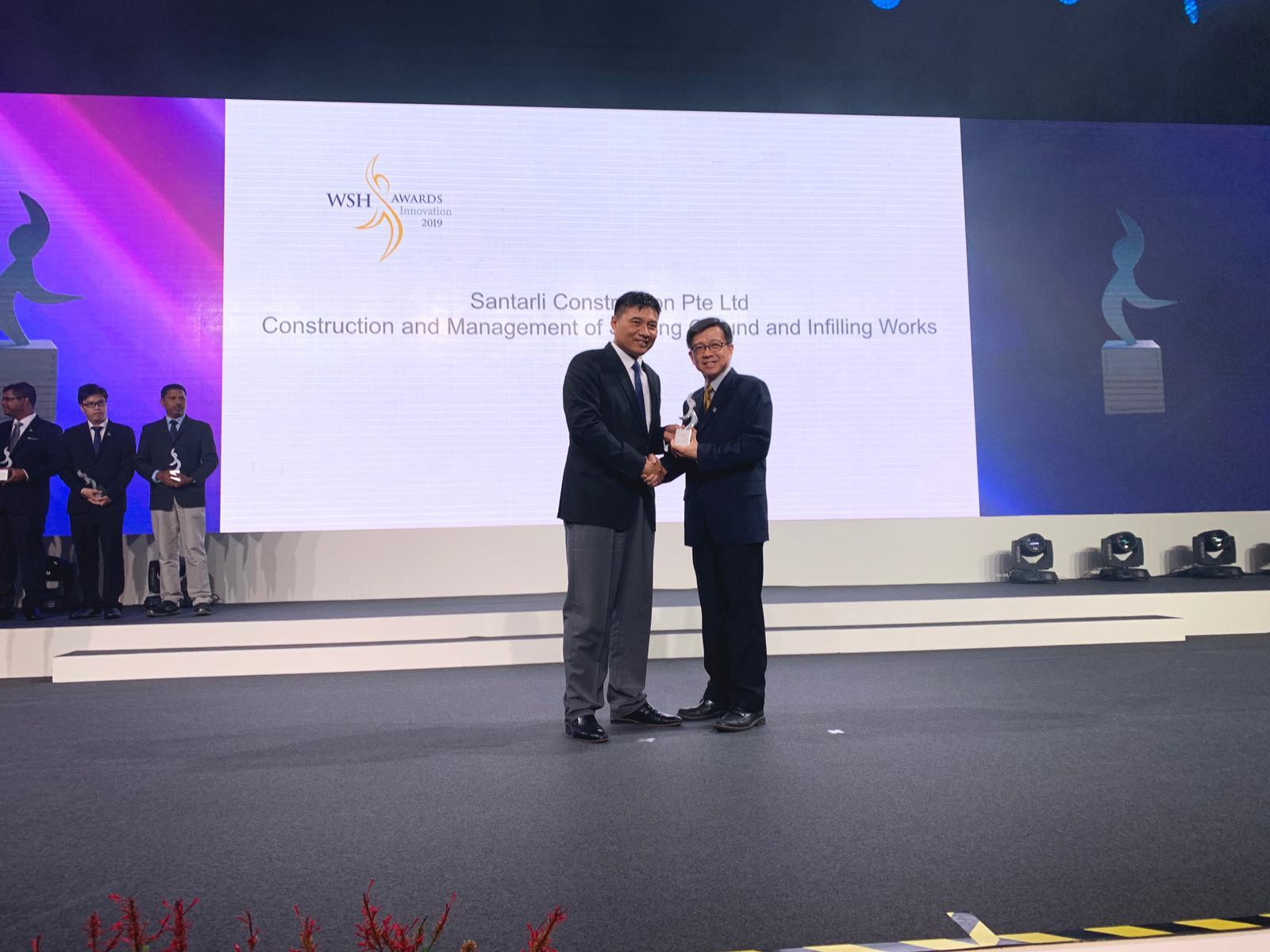 Santarli clinches the WSH Innovation Award 2019